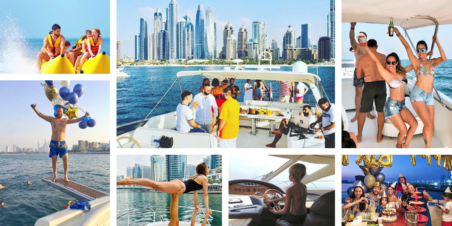Rent yacht for birthday with your friends