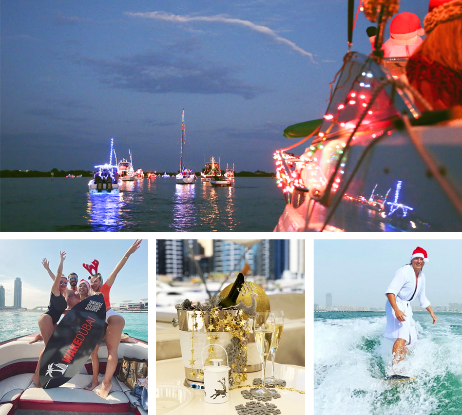 Boat rental for NY 2021 in Dubai