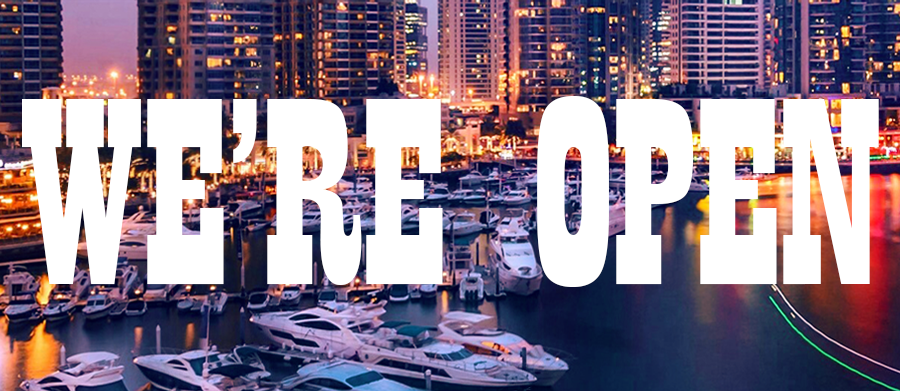 Luxury Sea Boats officially reopened from today - You can rent yacht in Dubai from May 14