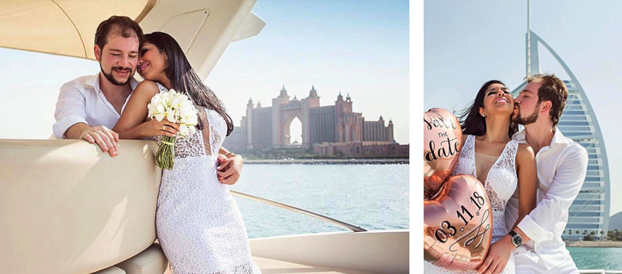 Rent a yacht for unusual date