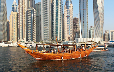 Rent yacht tradition in Dubai