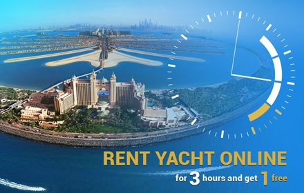 February special rent yacht 3 plus 1