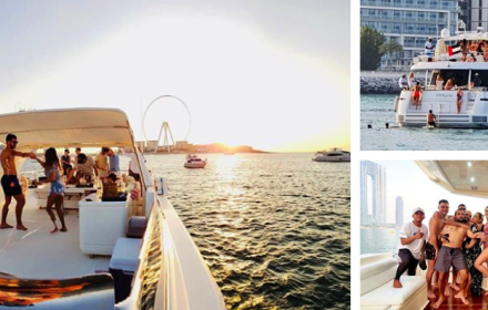 Dubai Summer on a Yacht