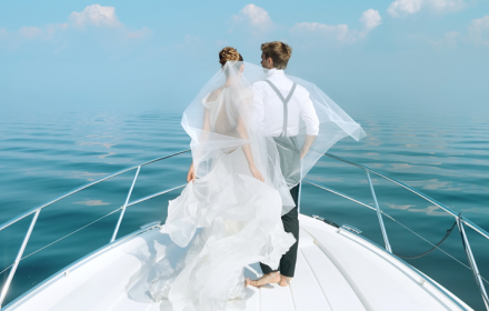 Yacht Rent for Wedding