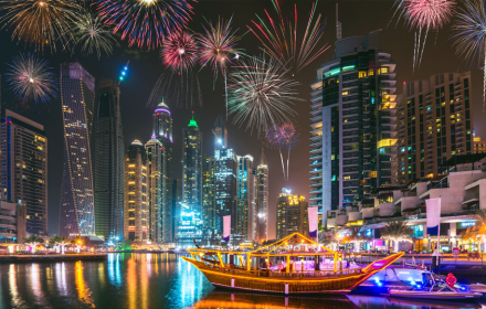 Rent a yacht for NEW YEAR HOLIDAYS IN DUBAI