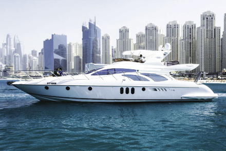 Rent Azimut 62 Freedom II yacht in Dubai