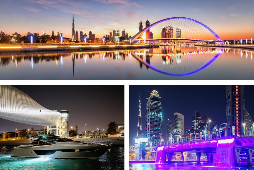 Dubai Water Canal Cruise Photos